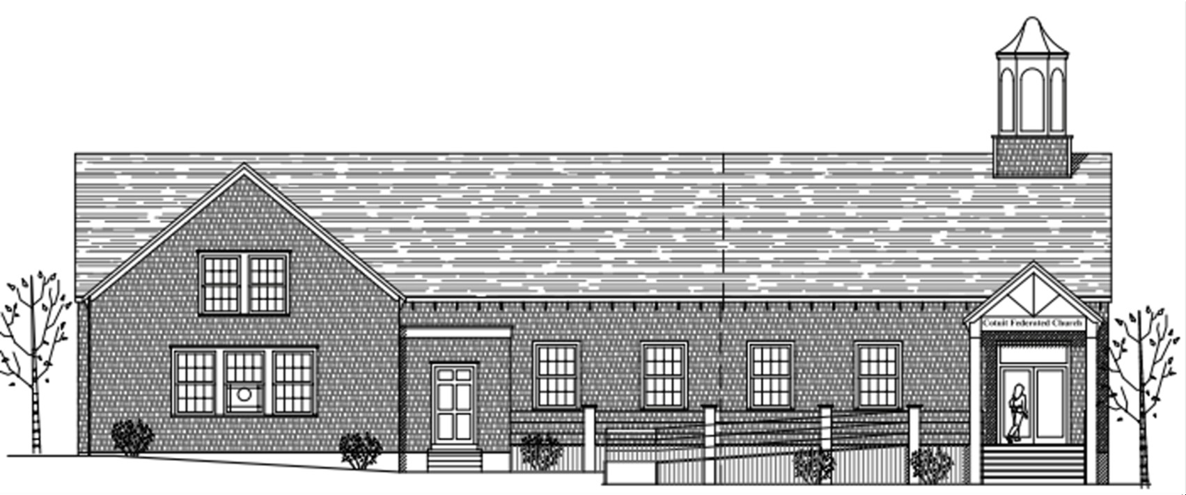 Architect's view of church expansion